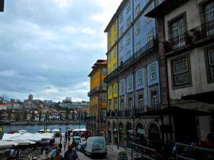 The streets in Porto