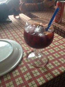 Sangria aka my comfort during the storm